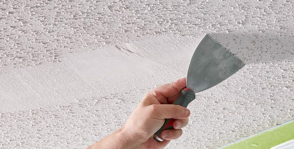 Removing Popcorn Ceilings - A Beginner's Guide